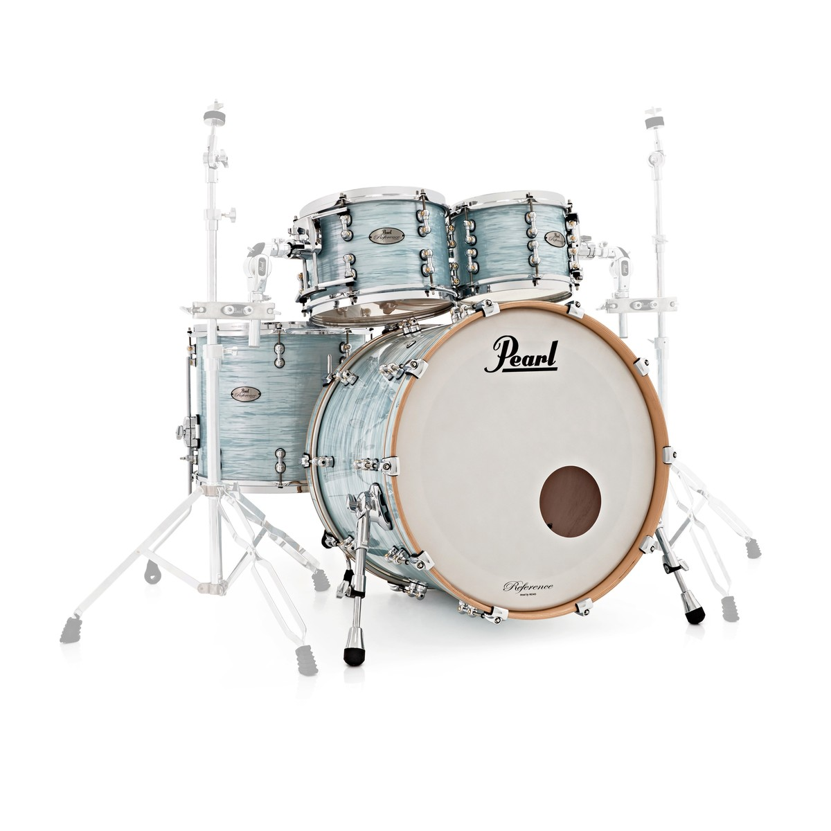 pearl reference pure 22 4 piece shell pack ice blue oyster at gear4music. Black Bedroom Furniture Sets. Home Design Ideas