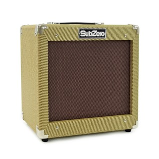 San Diego Semi Acoustic Guitar and SubZero V35RG Amp Pack, Natural