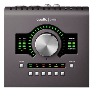 Universal Audio Apollo Twin Quad - Front