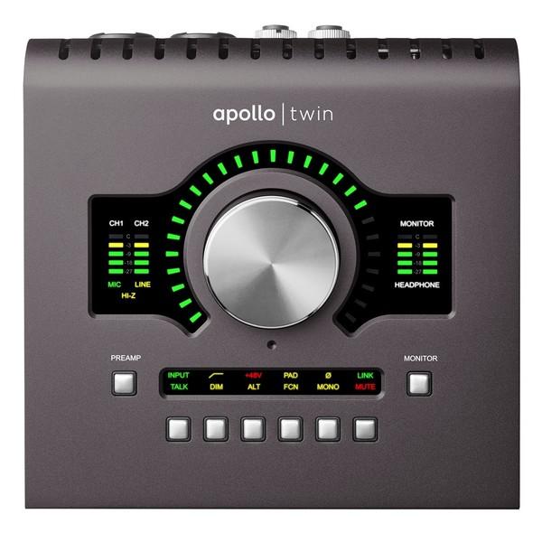 Universal Audio Apollo Twin Quad - Front