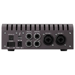 Apollo Twin Quad MKII Thunderbolt Audio Interface - Rear
