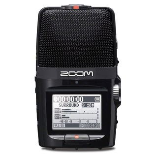 Zoom H2n Recorder Microphone - Front