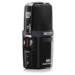 Zoom H2n Recorder Microphone - Angled Right