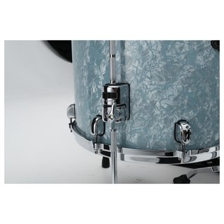 Tama Starclassic Performer Ice Blue Pearl floor tom bottom