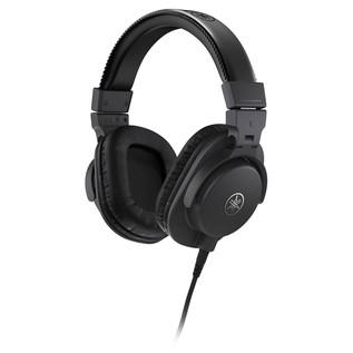 Yamaha HPH-MT5 Studio Monitor Headphones, Black - Angled
