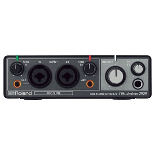 Rubix 22 Audio Interface - Front