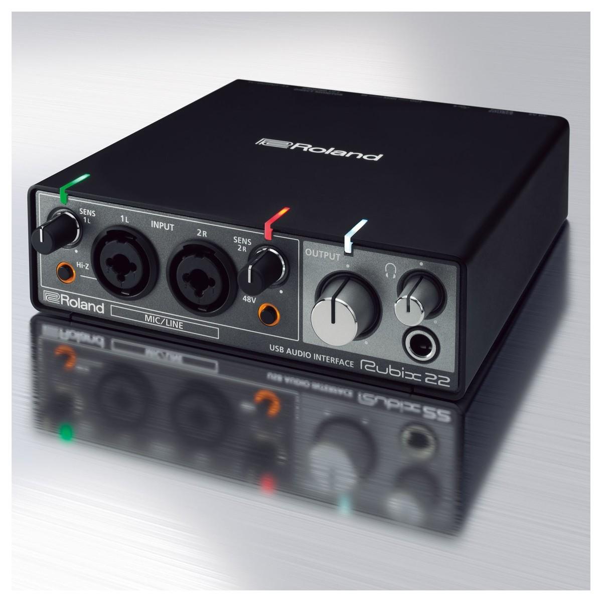 Poddi Personal Audio Interface : Roland rubix usb interfejs audio na gear music