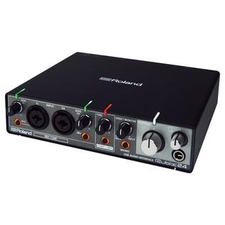 Roland Rubix24 USB Audio Interface - Angled