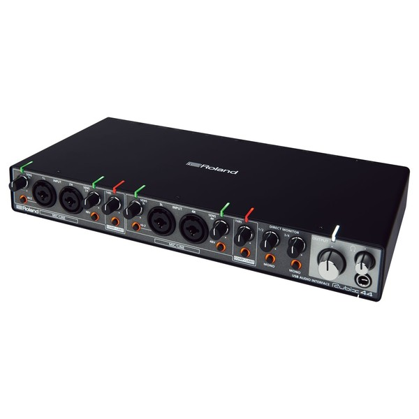 Roland Rubix44 USB Audio Interface - Angled
