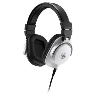 Yamaha HPH-MT5 Studio Monitor Headphones, White - Angled