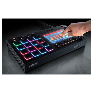 Akai MPC Live Standalone Production System - Lifestyle