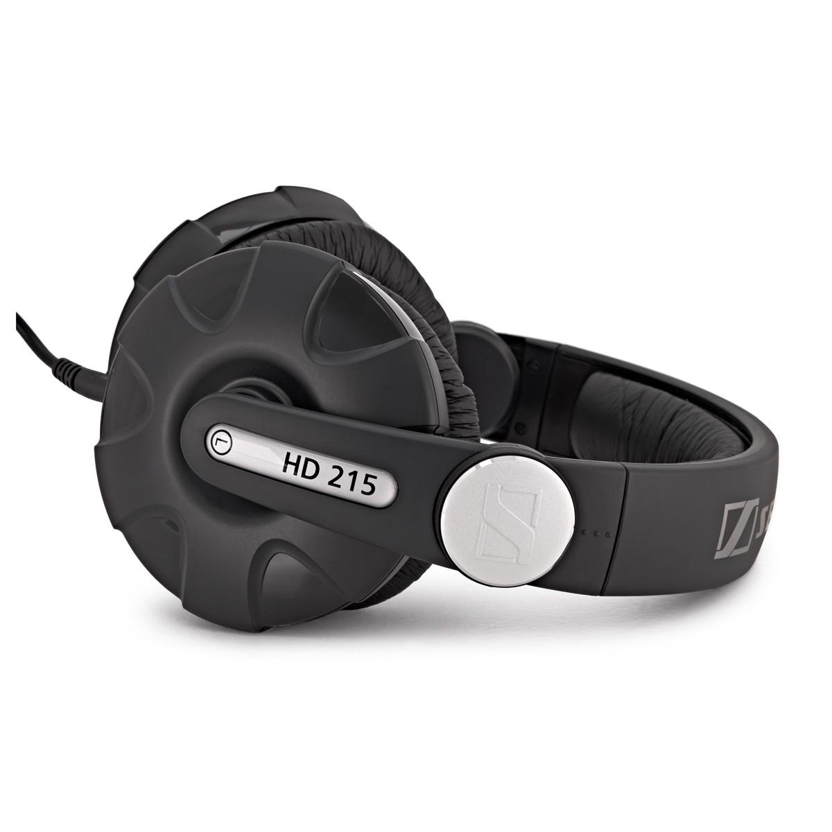 Sennheiser HD 215 II Closed DJ Headphones at Gear4music.com