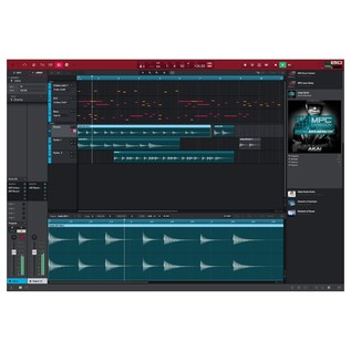 MPC Software 2.0 Screenshot - Arrangement