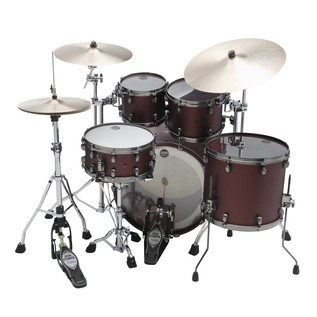 Tama Starclassic Bubinga Shell Pack rear view with hardware