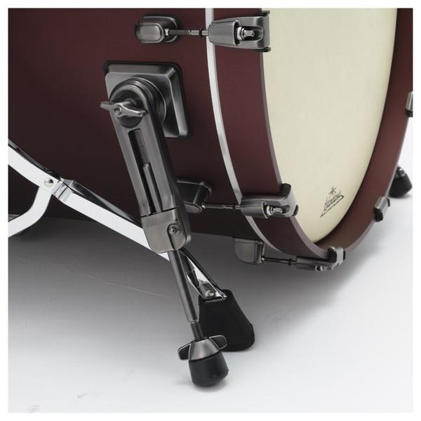 Tama Starclassic Bubinga 4pc Shell Pack bass drum leg