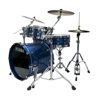 Tama Starclassic Performer Shell Pack, Ocean Blue Ripple side view