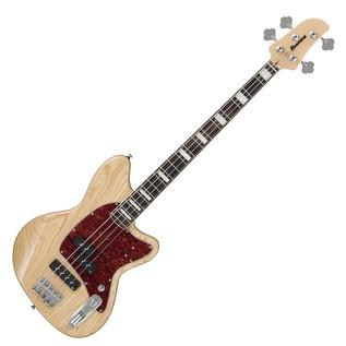 Ibanez TMB600 Talman Bass Guitar, Natural Front View