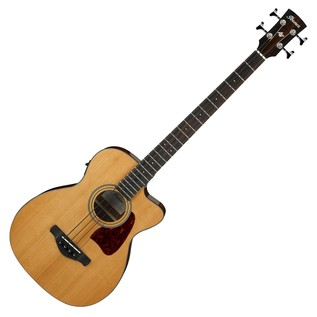 Ibanez AVCB9CE Electro Acoustic Bass Guitar, Natural High Gloss