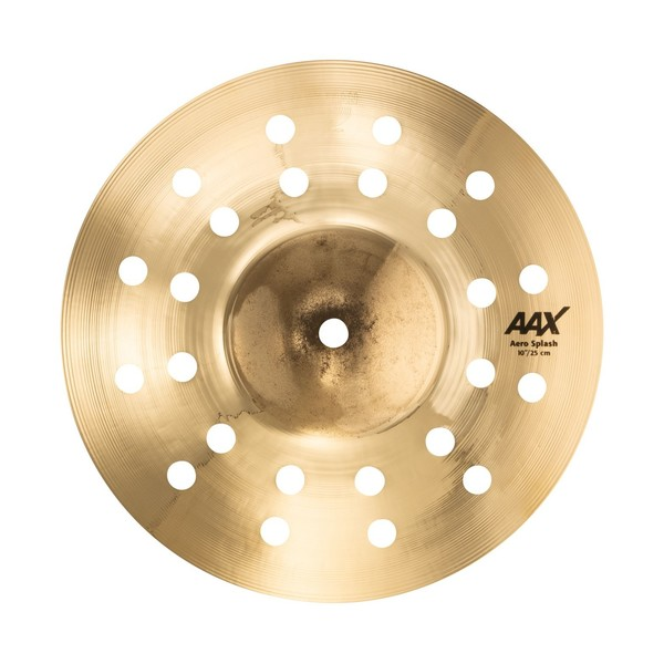 "Sabian AAX 10"" Aero Splash Cymbal, Brilliant"