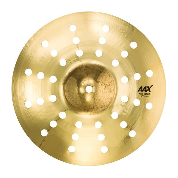"""Sabian AAX 12"""" Aero Splash Cymbal, Brilliant"""