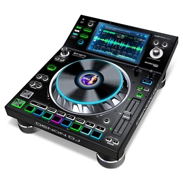 Denon DJ SC5000 Prime Media Player - Angled