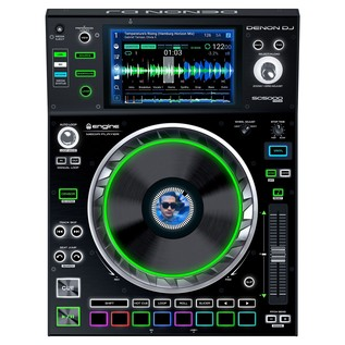 Denon DJ SC5000 Digital Turntable - Top