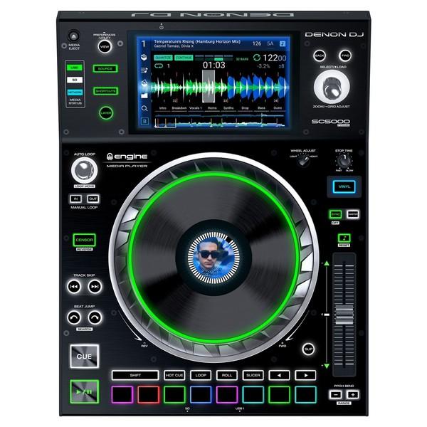 Denon DJ SC5000 Digital Turntable - Top