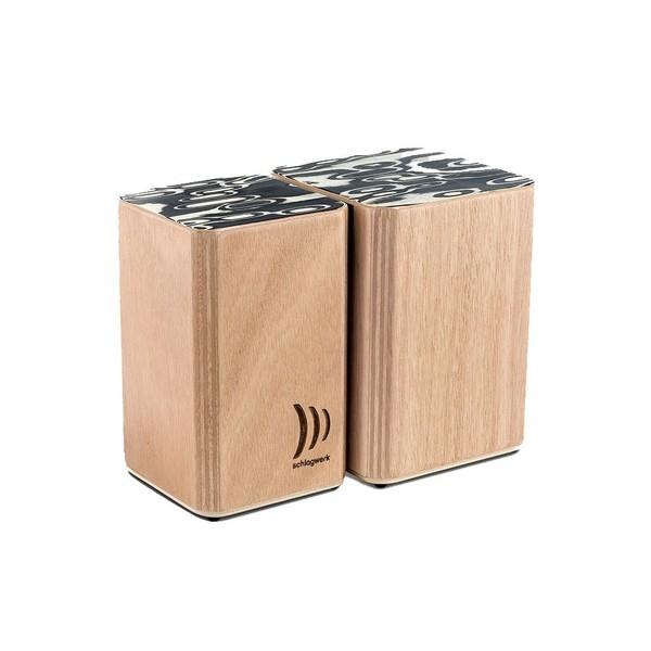 Schlagwerk Wooden Bongos with Velcro