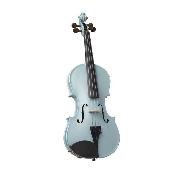 Stentor Harlequin Violin Outfit, Light Blue 3/4