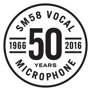 SM58 50th Anniversary Microphone