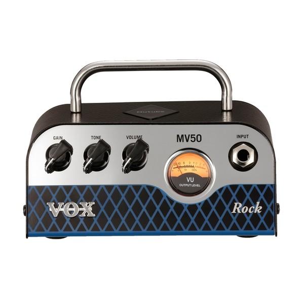 Vox MV50 Rock Compact Guitar Amp Head Front