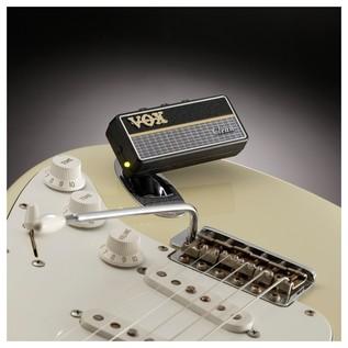 Vox amPlug 2 Guitar Headphone Amp In Use