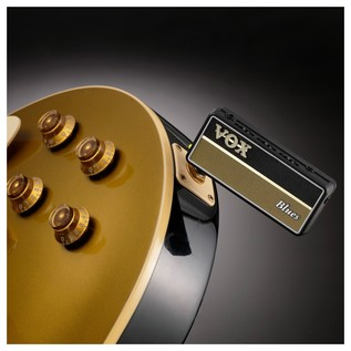 Vox amPlug 2 Guitar Headphone Amp, Blues In Use