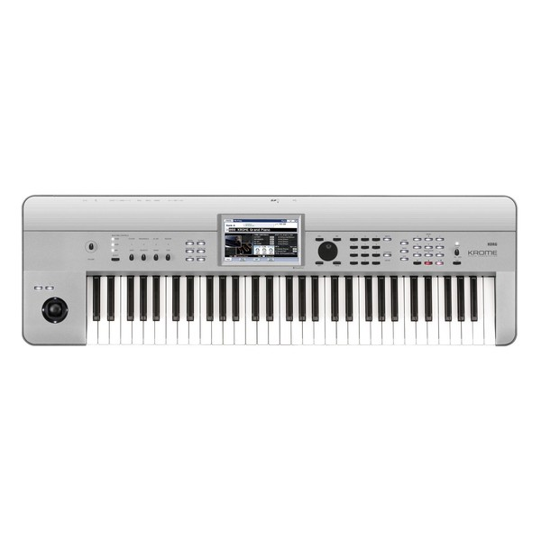 Korg KROME-61 61 Key Music Workstation, Platinum