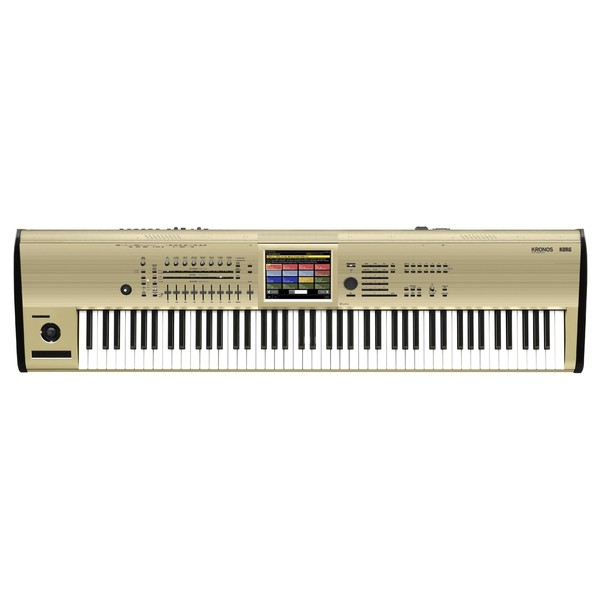 Korg KRONOS 88 Key Music Workstation Limited Edition, Gold - Top