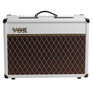 Vox AC15C1 Limited Edition Amp, White Bronco