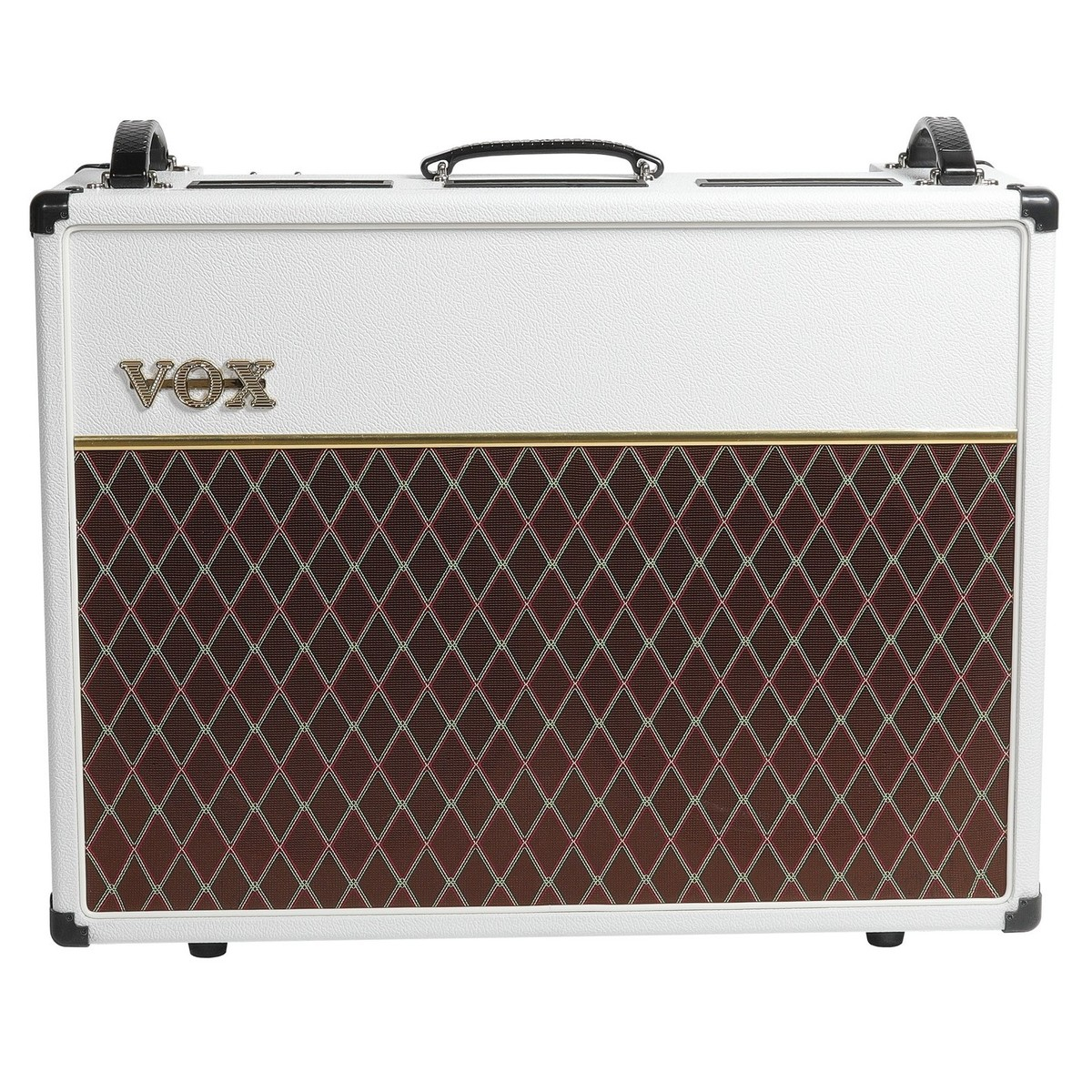 vox ac30c2 limited edition guitar combo amp white bronco at gear4music. Black Bedroom Furniture Sets. Home Design Ideas