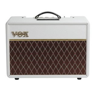 Vox AC10C1 Limited Edition Amp, White Bronco