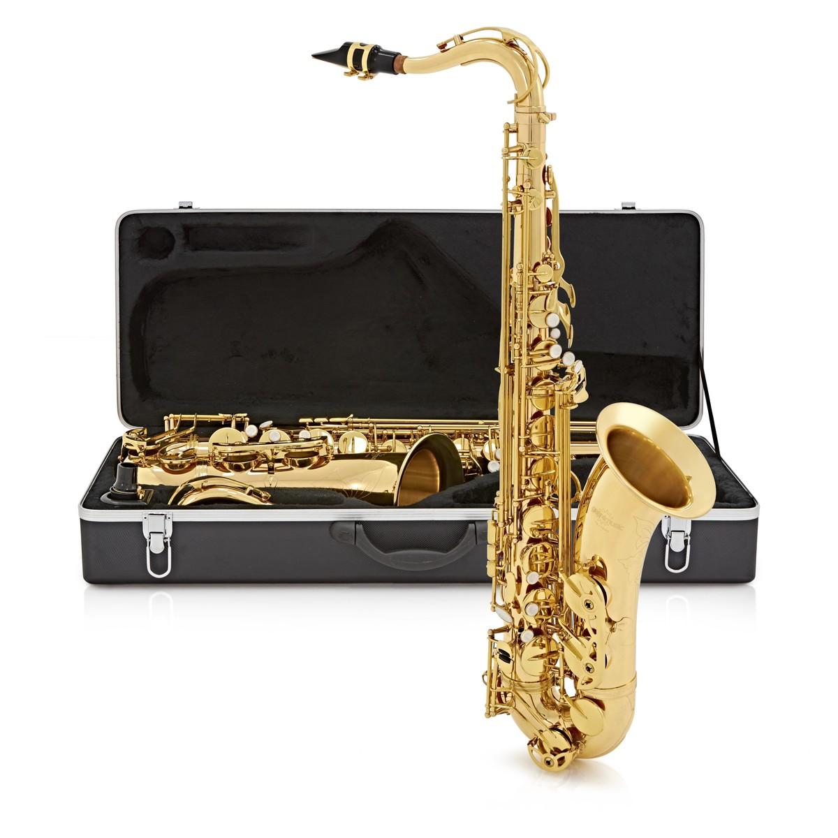 saxophone t nor par gear4music or bo te ouverte. Black Bedroom Furniture Sets. Home Design Ideas