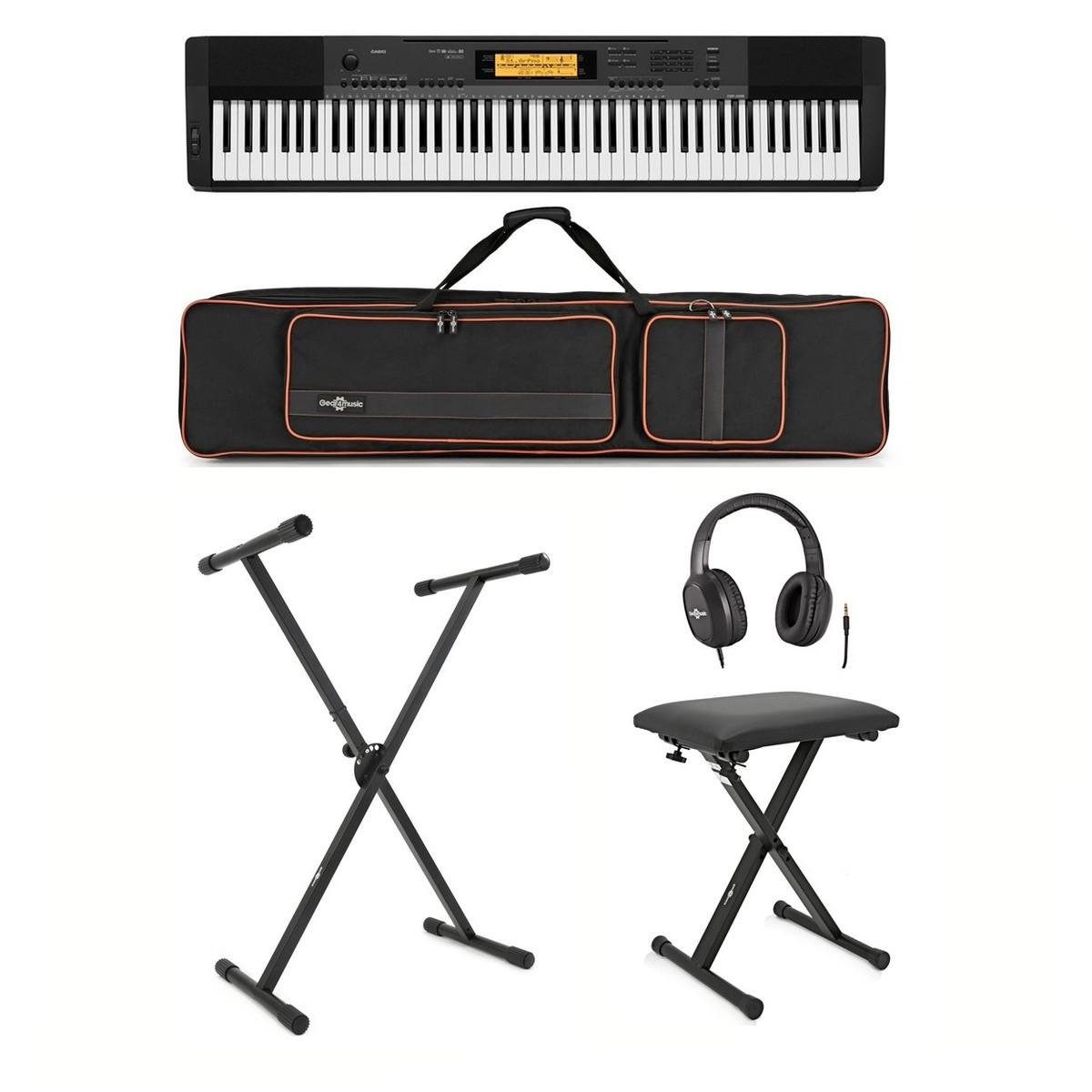 29e83fc62817 Casio CDP-220R Piano Digital + Accesorios