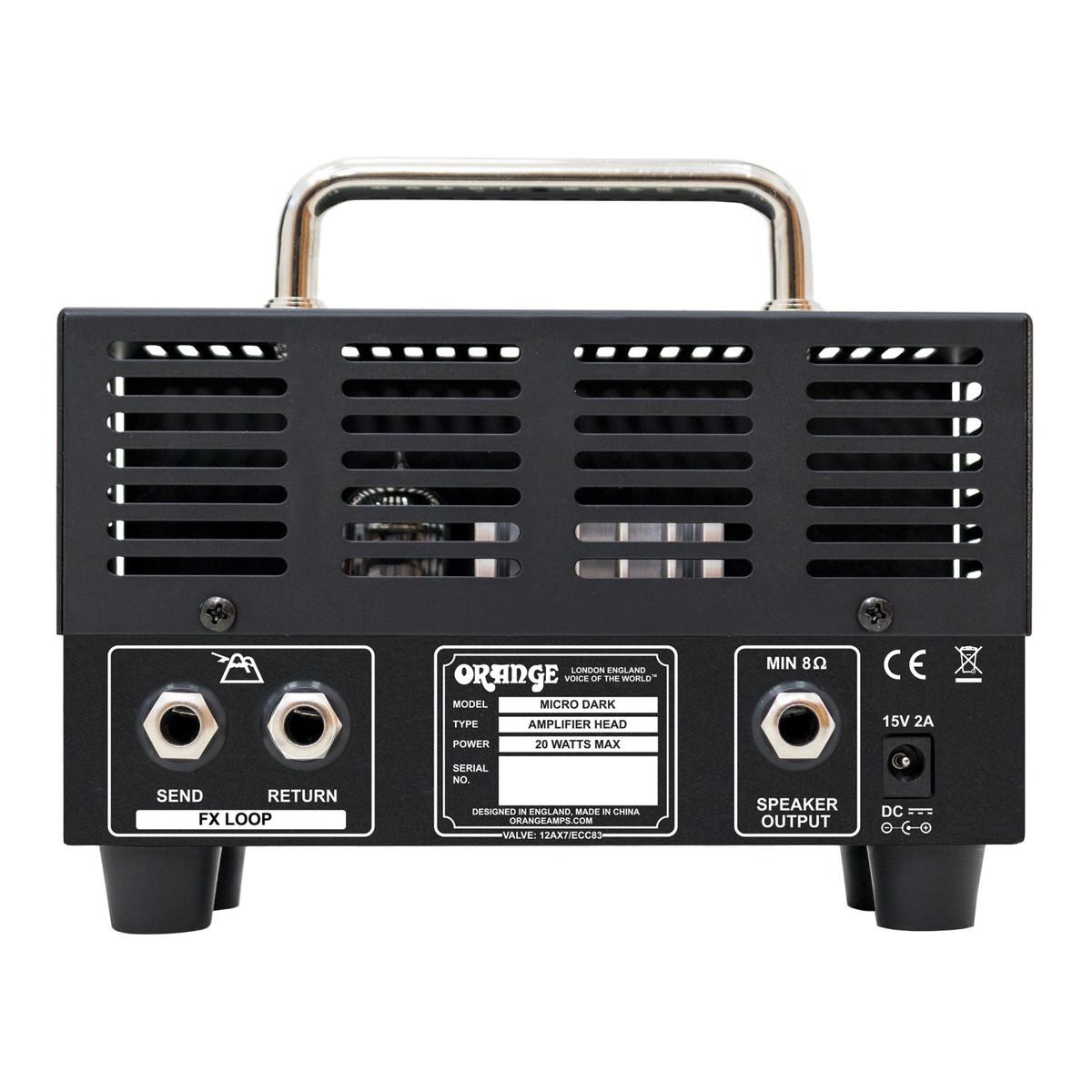orange micro dark valve hybrid guitar amp head b stock at gear4music. Black Bedroom Furniture Sets. Home Design Ideas