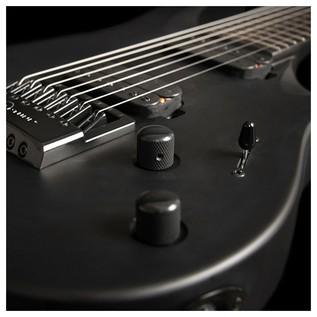 Washburn Parralaxe PX-Solar17ETC Ola Englund 7 String, Carbon Black