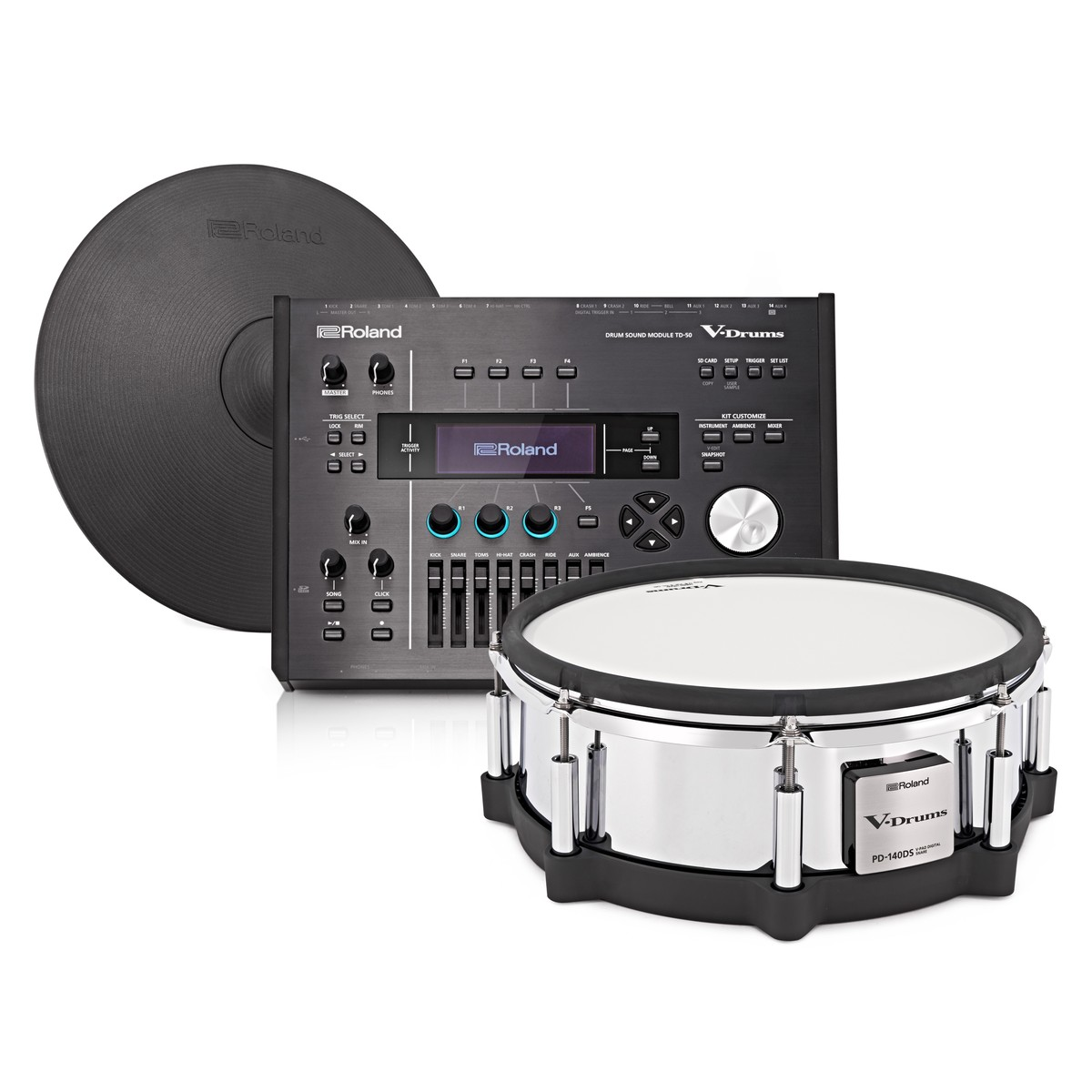 roland td 50 v drums digital upgrade pack at gear4music. Black Bedroom Furniture Sets. Home Design Ideas