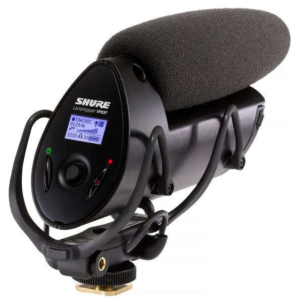 Shure VP83F LensHopper Camera-Mount Condenser Microphone