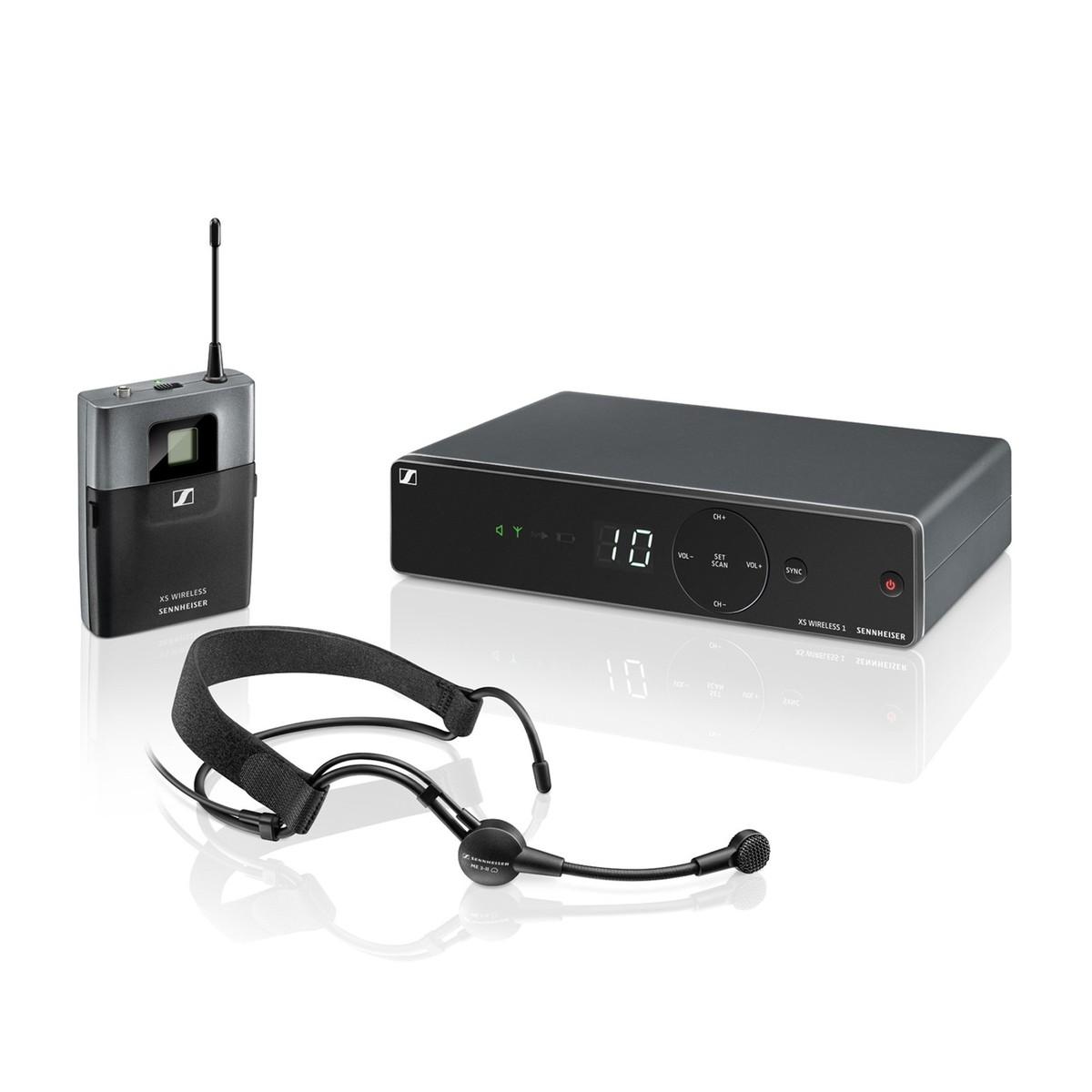 Sennheiser XSW 1-ME3 Micrófono Inalámbrico de Diadema, Frecuencia ...