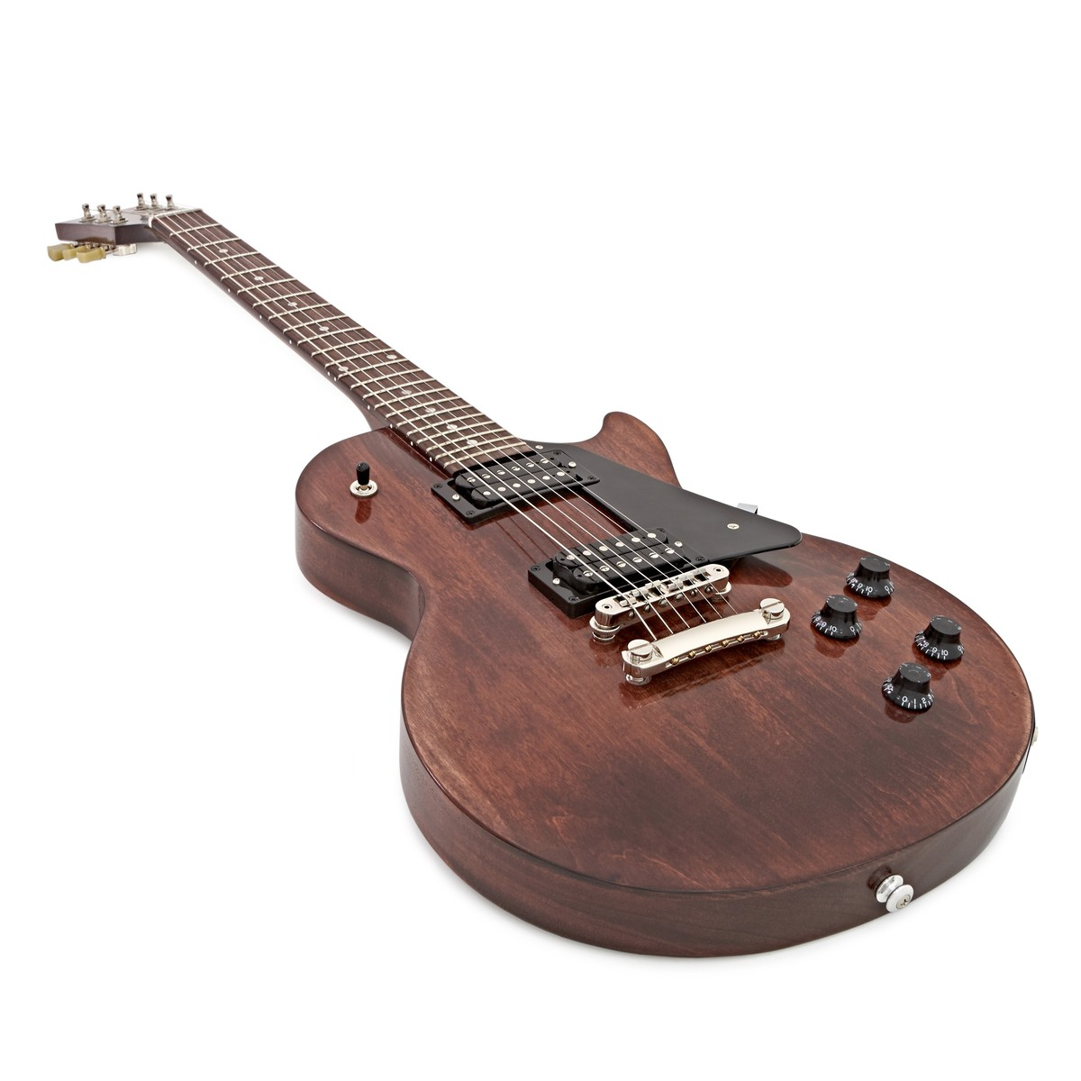 gibson les paul faded t electric guitar worn brown 2017 at. Black Bedroom Furniture Sets. Home Design Ideas