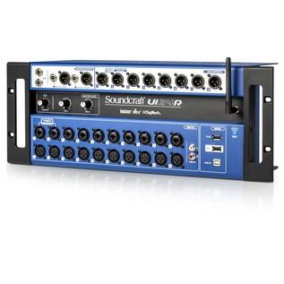 Soundcraft Ui24R Multi-Track Recording System - Angled 2