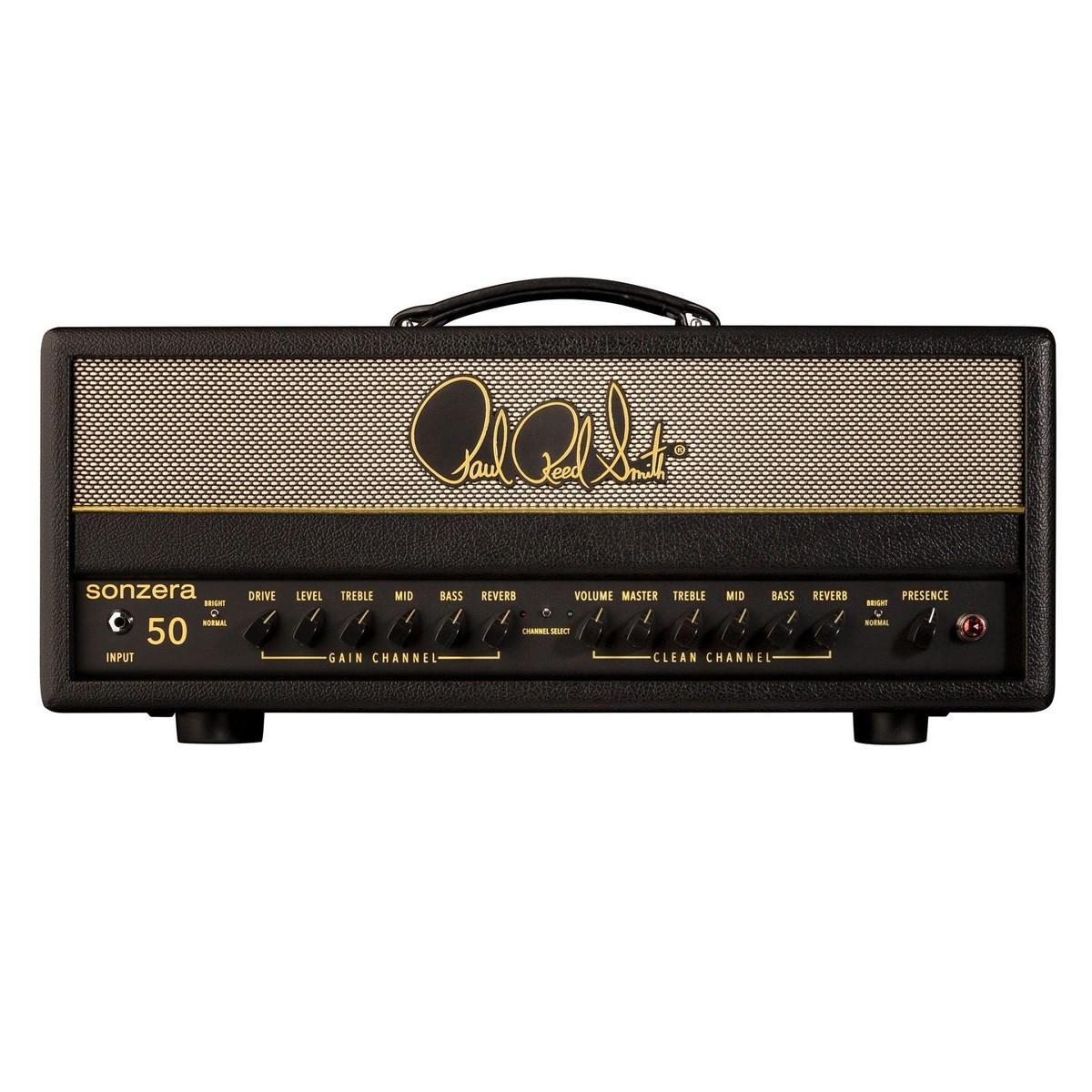prs sonzera 50 guitar head amplifier at gear4music. Black Bedroom Furniture Sets. Home Design Ideas