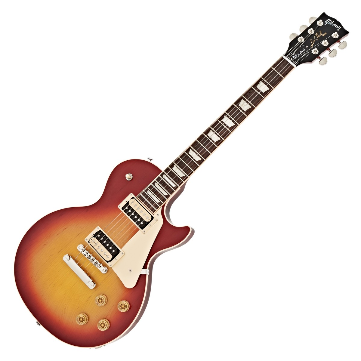 gibson les paul classic t 2017 cherry sunburst at. Black Bedroom Furniture Sets. Home Design Ideas