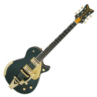 Gretsch G6134T-CDG-LTD16 Limited Edition Penguin, Cadillac Green Angle